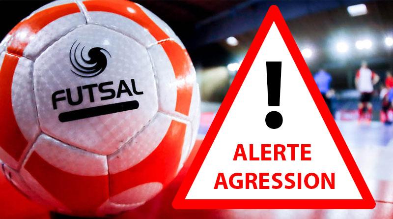 Alerte agression en finale FUTSAL